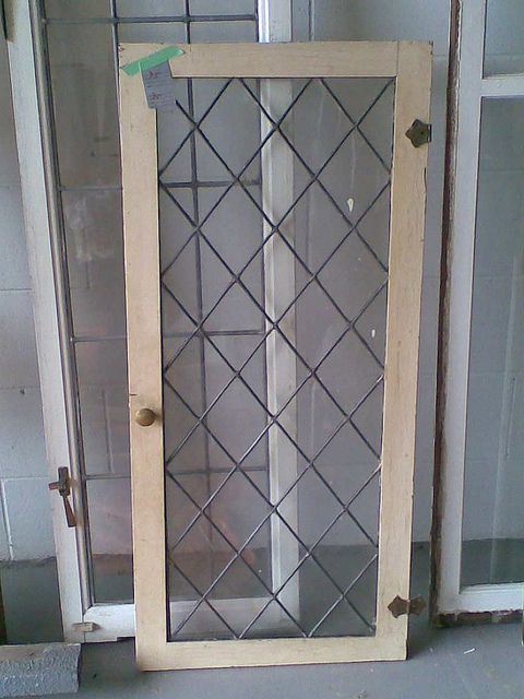 Leaded glass cabinet door from Kerrisdale by ...