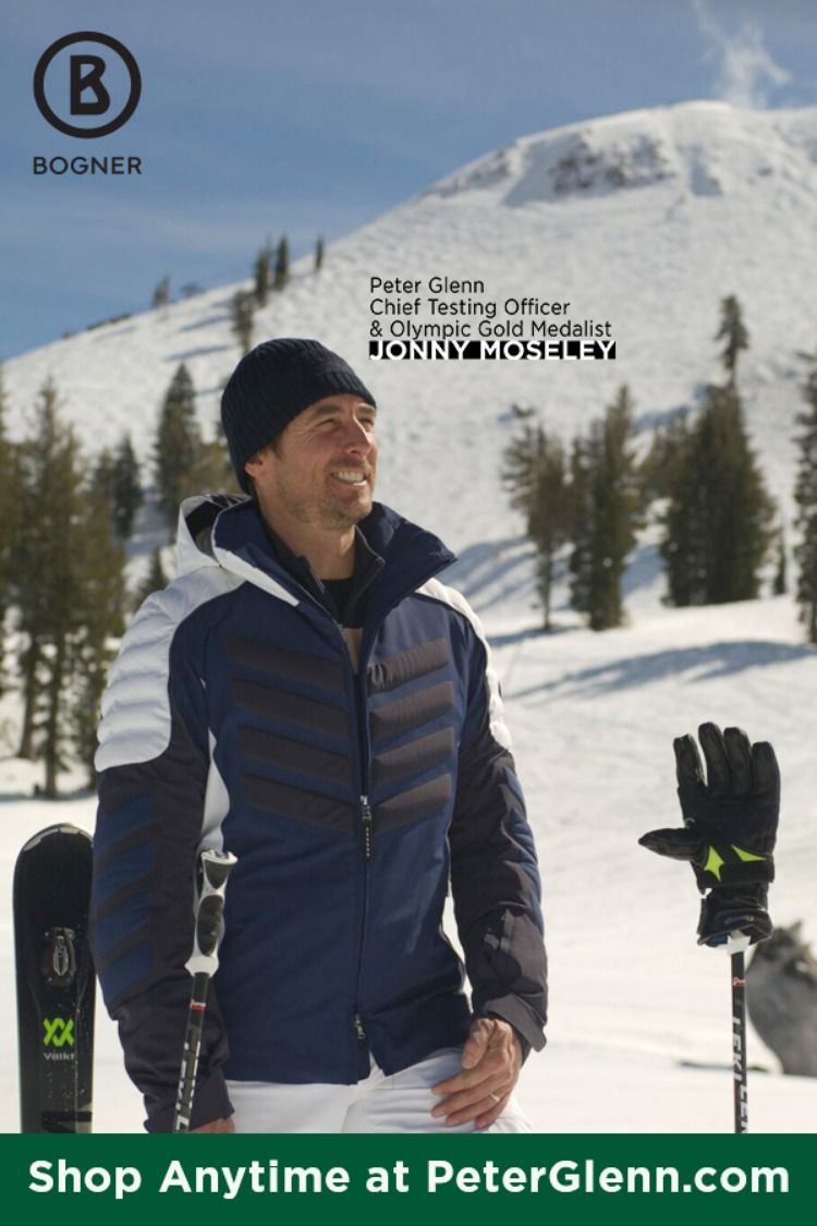 Jonny Moseley has embraced his new role at Peter Glenn