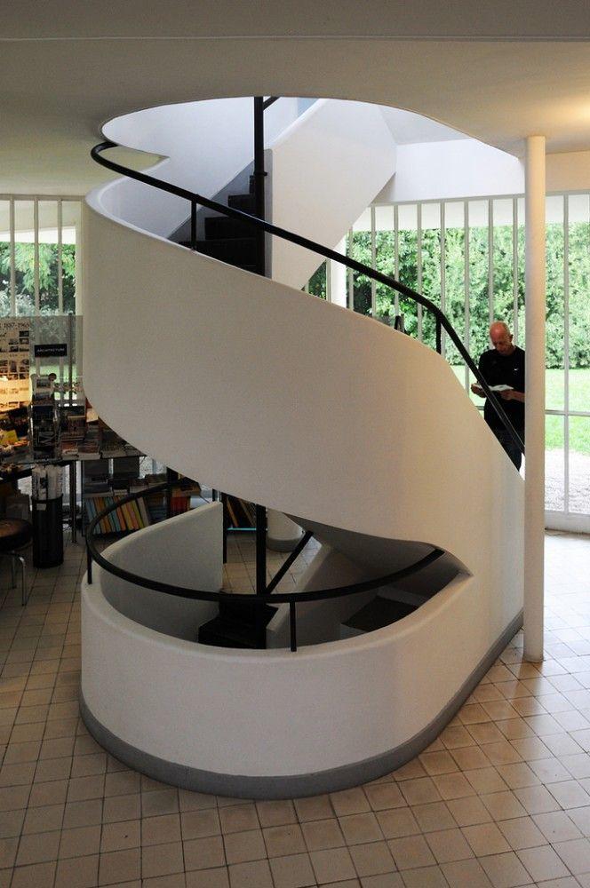 Galería de clásicos de arquitectura: villa savoye / le corbusier ...