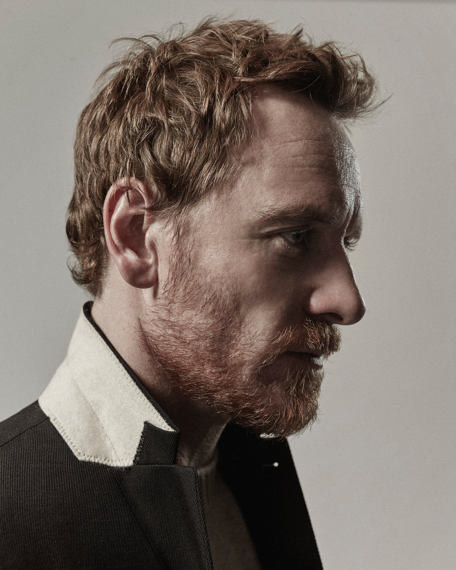 Michael Fassbender for The Guardian, photographed by Brendan Freeman