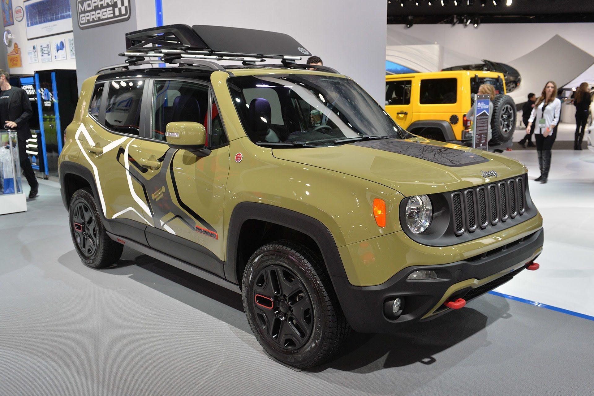 Jeep Renegade Mopar f Road Concept 2015 Detroit Auto Show