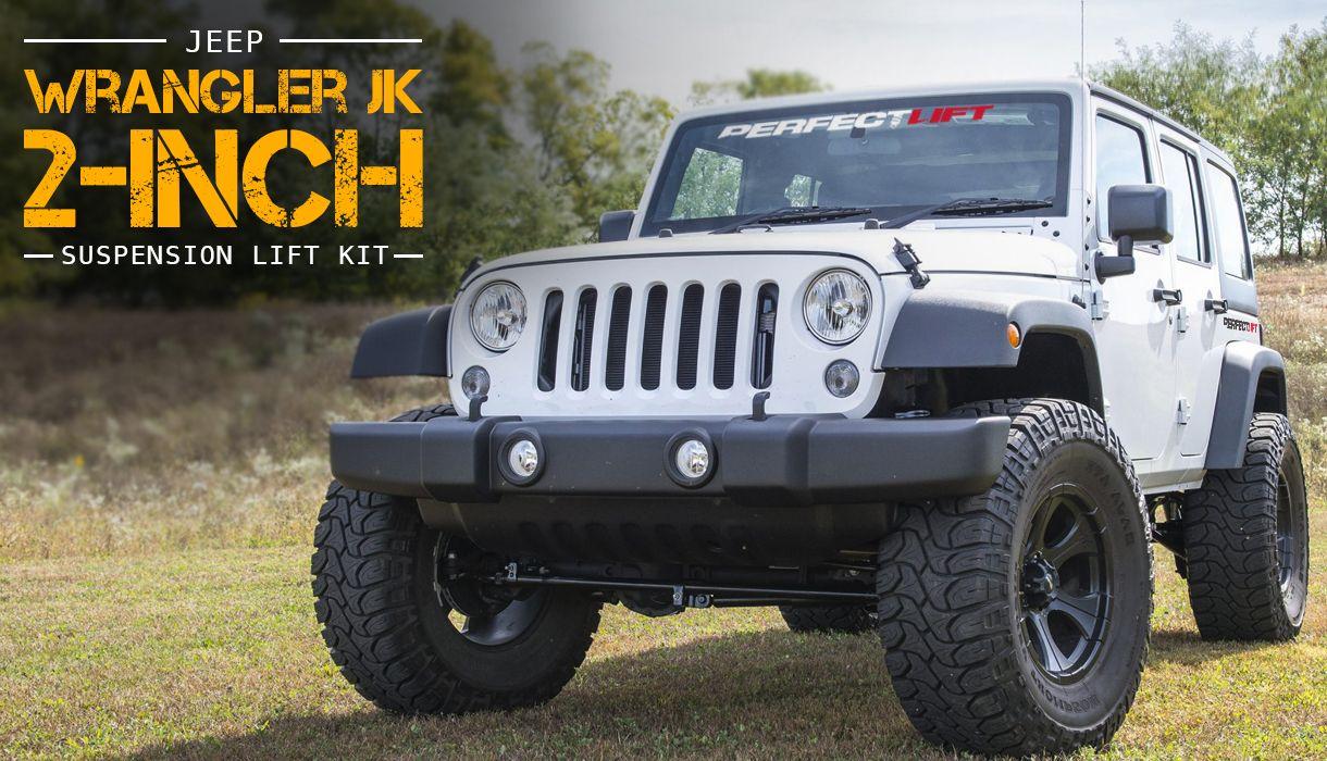 2 Front And 2 Rear Jeep Wrangler Jk Lift Kit Adjustable Rancho