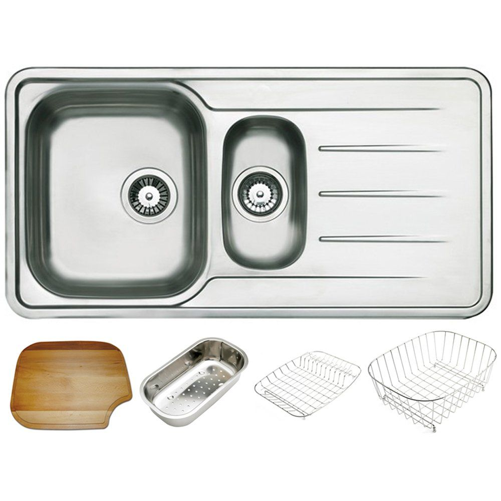 Astracast topaz 15 bowl polished stainless steel kitchen sink astracast topaz 15 bowl polished stainless steel kitchen sink accessories astracast from taps uk workwithnaturefo