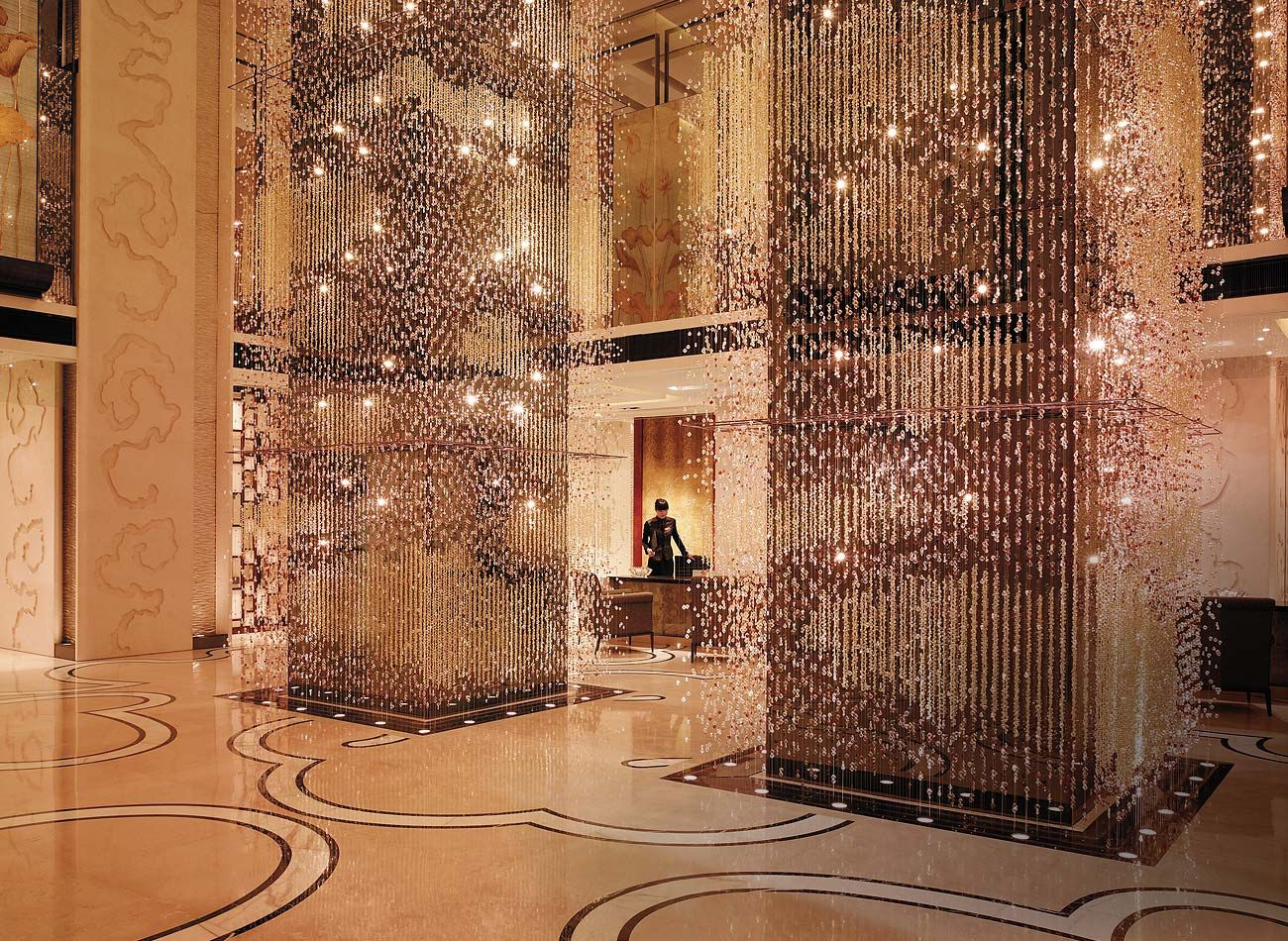 Shangri La Hotel Beijing China a stunning