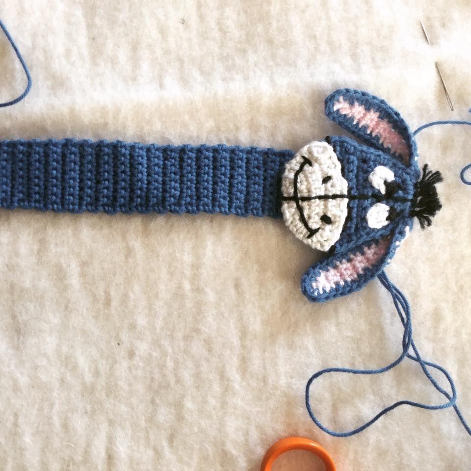 Hæklet bogmærke æsel | crochet | Crochet bookmarks, Crochet, Amigurumi