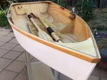 Built a one-sheet skiff