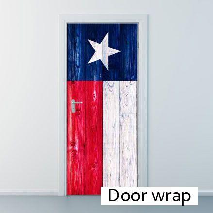 Texas Wooden Flag Door Wrap Sc 1 St Pinterest  sc 1 st  pezcame.com & Door Wrapping Ideas \u0026 Hall Closet Door Wrapping Paper And Gift Bag ...