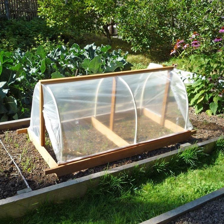 Diy Portable Garden Cloche Plans Portable Garden Garden Cloche