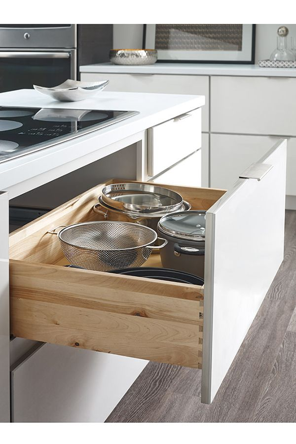 our two drawer base cabinet is perfect for pots pans or any taller rh pinterest com