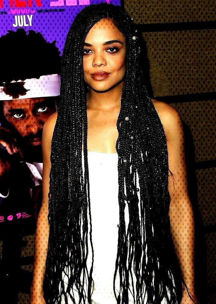 box braid hairstyles | corn rows | small box braids | long box bra,  Braids afro corn rows STYLECAS