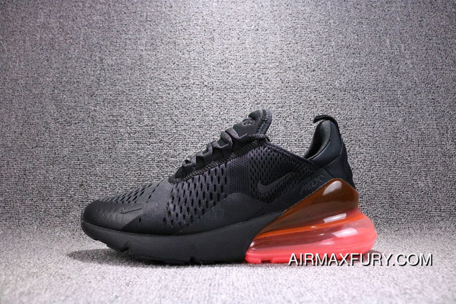 Nike Air Max 270 Black And Red AH8050 010 270 Breathable