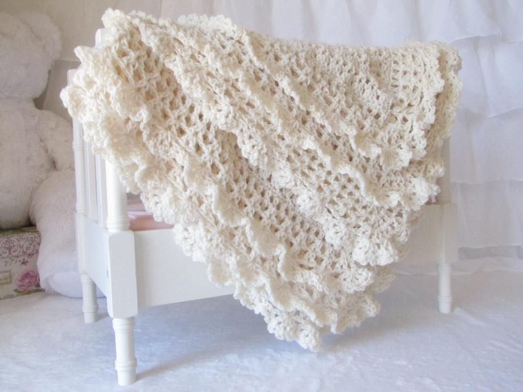 The following patterns are all very simple and made for novice the beautiful victorian baby blanket featuring double lace edging is sure to delight any mom victorian is the crochet baby blanket pattern by cali chic bankloansurffo Gallery