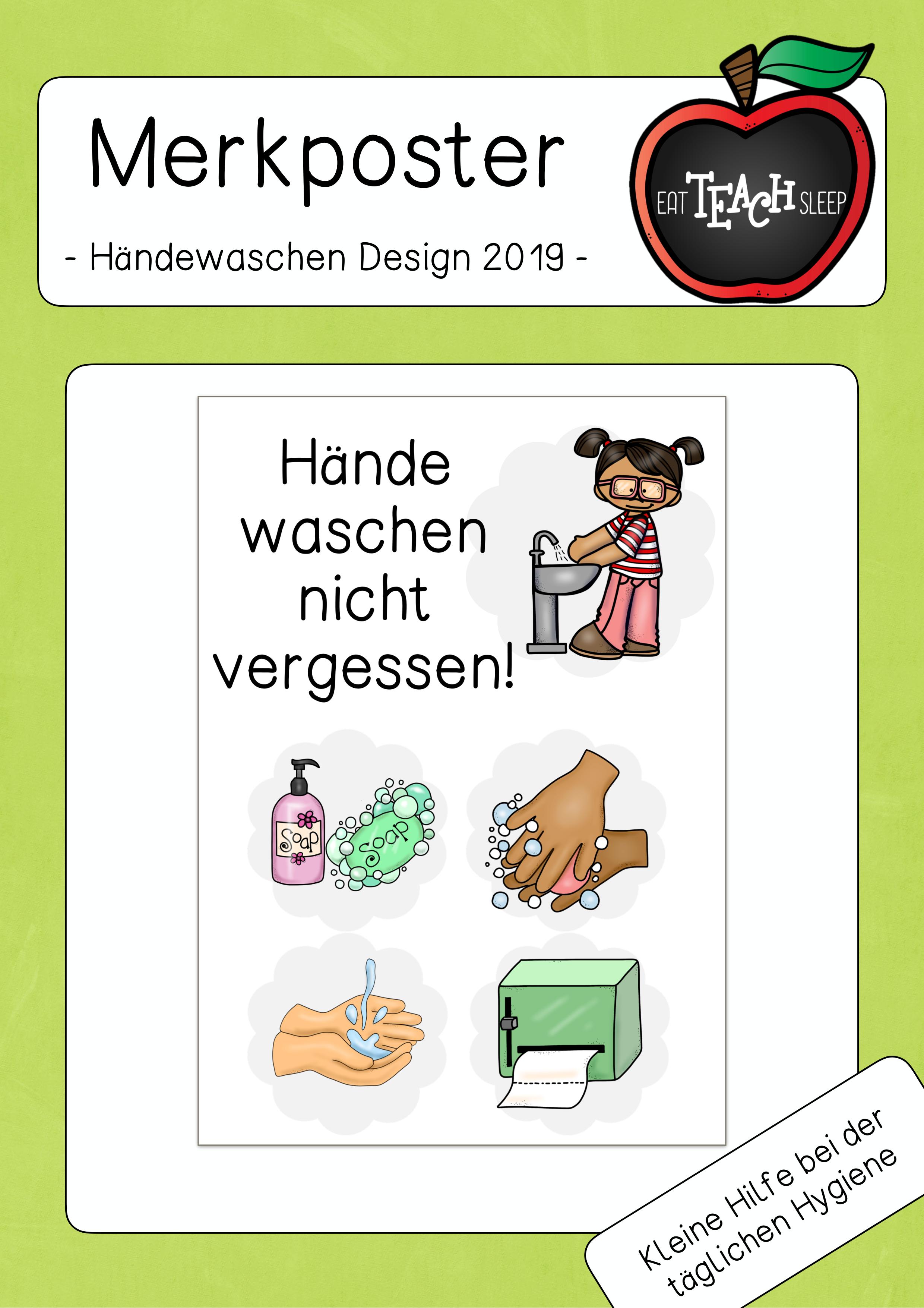 Hande Waschen Nicht Vergessen Bw Unterrichtsmaterial In Den Fachern Fachubergreifendes Hauswirtschaft Hauswirtschaft Unterrichtsmaterial Erziehung