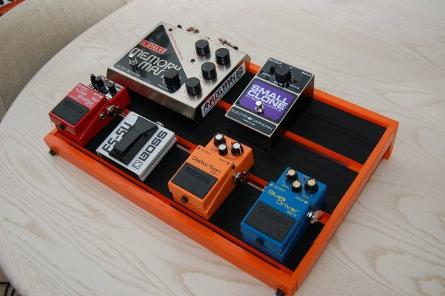 pedal board how to make on pinterest guitar effects pedals guitar and compound bows. Black Bedroom Furniture Sets. Home Design Ideas