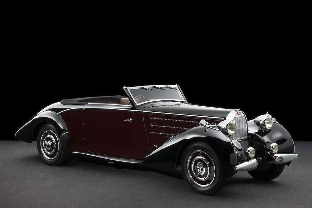 lot 17 bugatti type 57 cabriolet a d leteren 1938 estimation rh in pinterest com