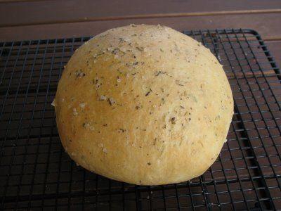 Bread Machine rosemary bread