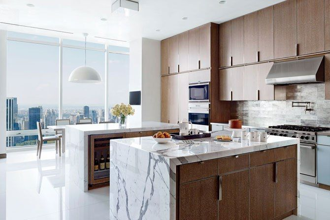edge pulls as cabinet hardware kitchen by rockwell group photo rh pinterest com