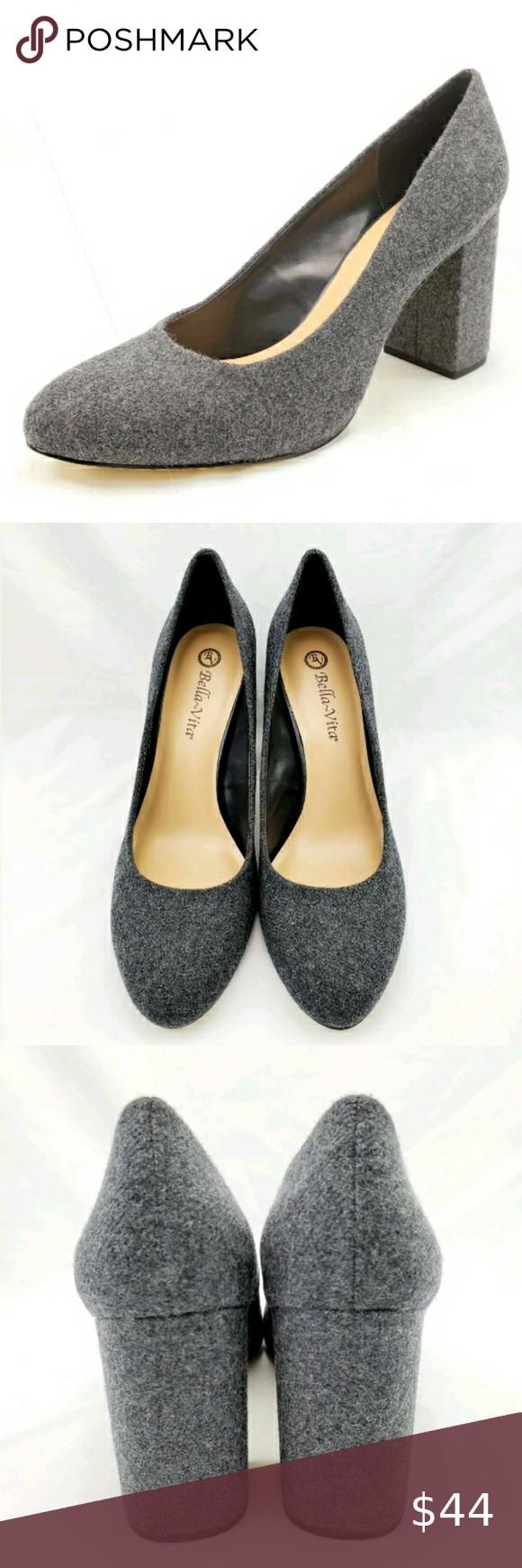 Insustituible federación Nota  Bella Vita Nara Gray Flannel Heels Size 11 M in 2020 | Size 11 heels, Bella  vita, Heels
