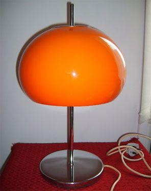 ebay watch 1970s guzzini style mushroom table lamp lighting rh pinterest com