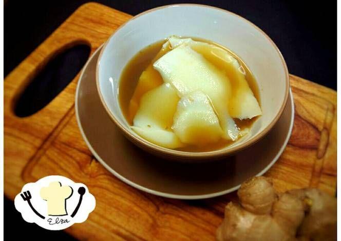 Resep Kembang Tahu Kuah Jahe Tau Huay Soya Milk Pudding Oleh Elza Simple Kitchen Resep Resep Resep Makanan Makanan