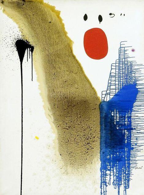 Joan Miró, Paysage, 1974