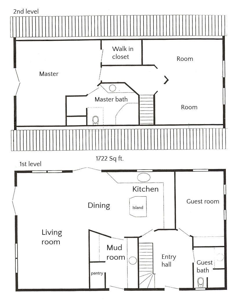 House plan 1 1/2 story