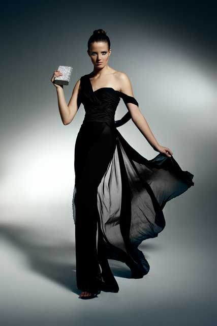 Evening gown, couture, evening dresses, formal and elegant Zuhair Murad. #black