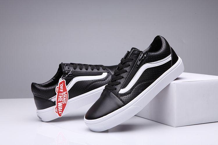 067e8302ad16 Vans Shoes Black White Original Old SKool Unisex Low