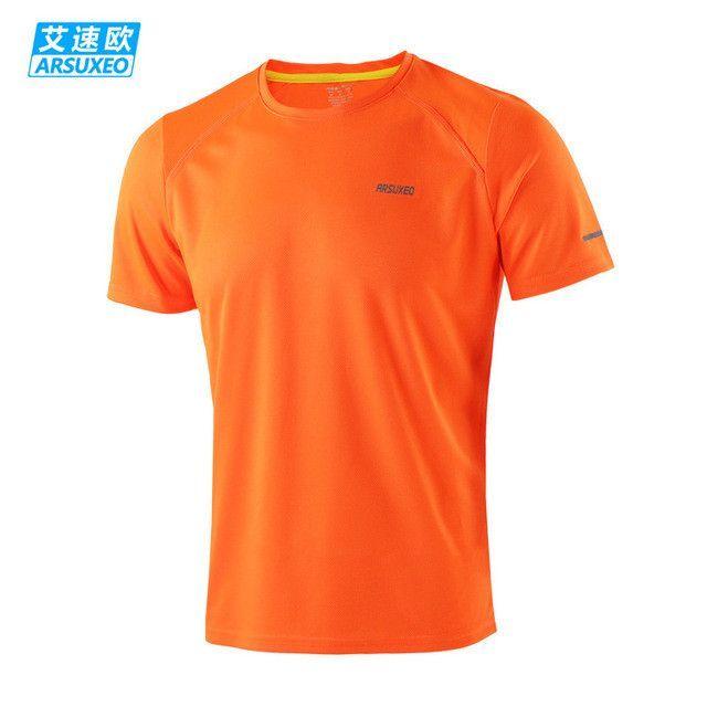 Brand New Men's Shirt Running T-shirts Women Short Sleeve Sports Suit Gym Fitness Soccer Jerseys Training Jersey Jogging Shirt