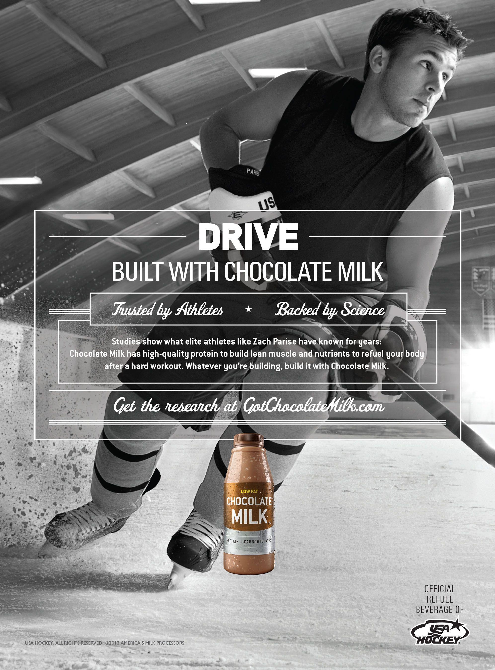 Marketing through sports *Chocolate milk *Athletes and milk ...