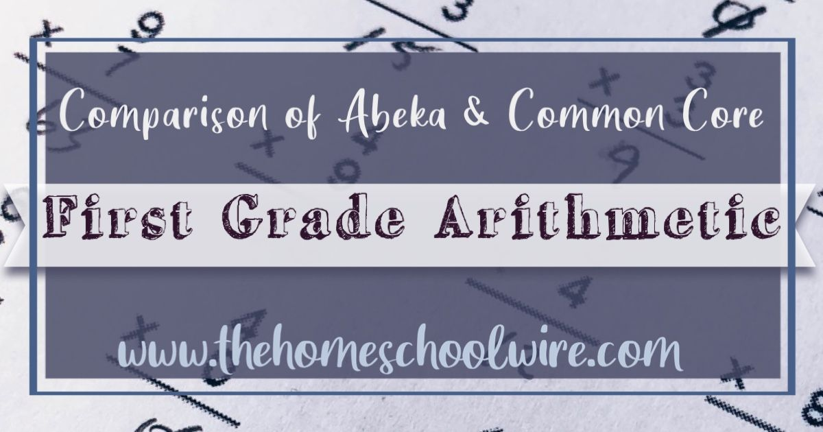 At A Glance How Does Abeka Compare To Common Core Standards Abeka Common Core Standards Benefits Of Homeschooling