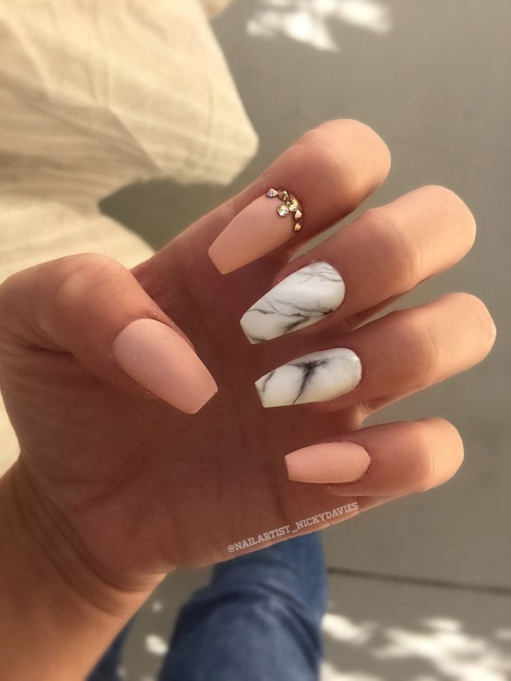 Marble matte | Nails. | Pinterest | Marbles, Nail inspo and Makeup
