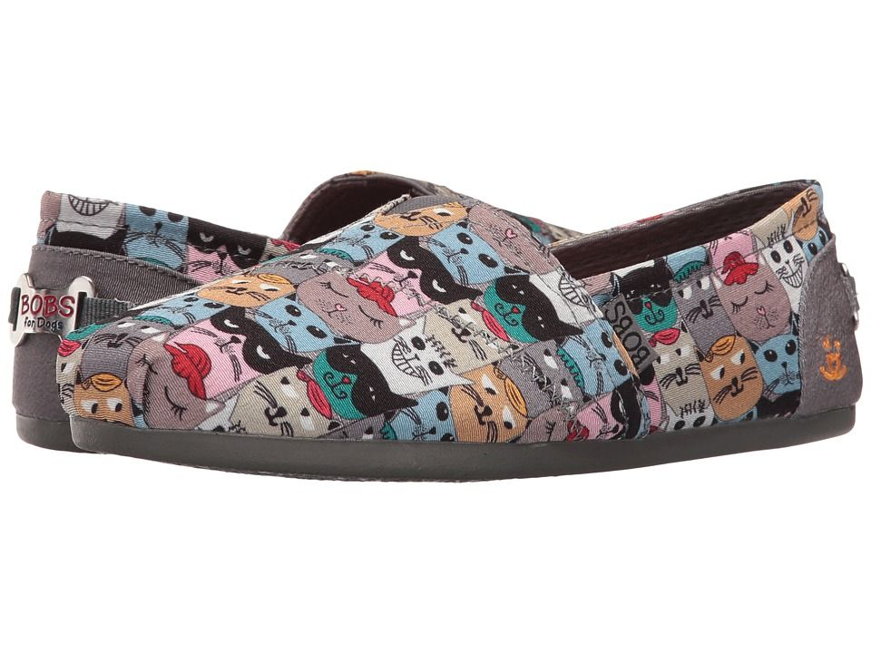 2ba23e628650 BOBS from SKECHERS Bobs Plush - Cat Party Women s Slip on Shoes Multi