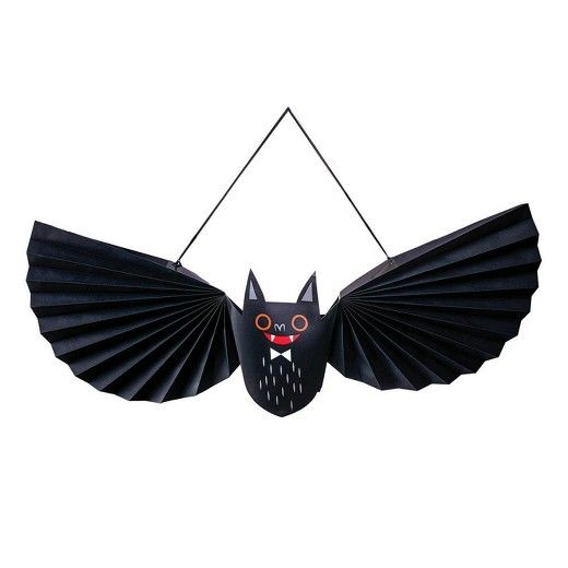 Hyde and Eek! Boutique Halloween Paper Bat Wall Decor | Paper bat ...