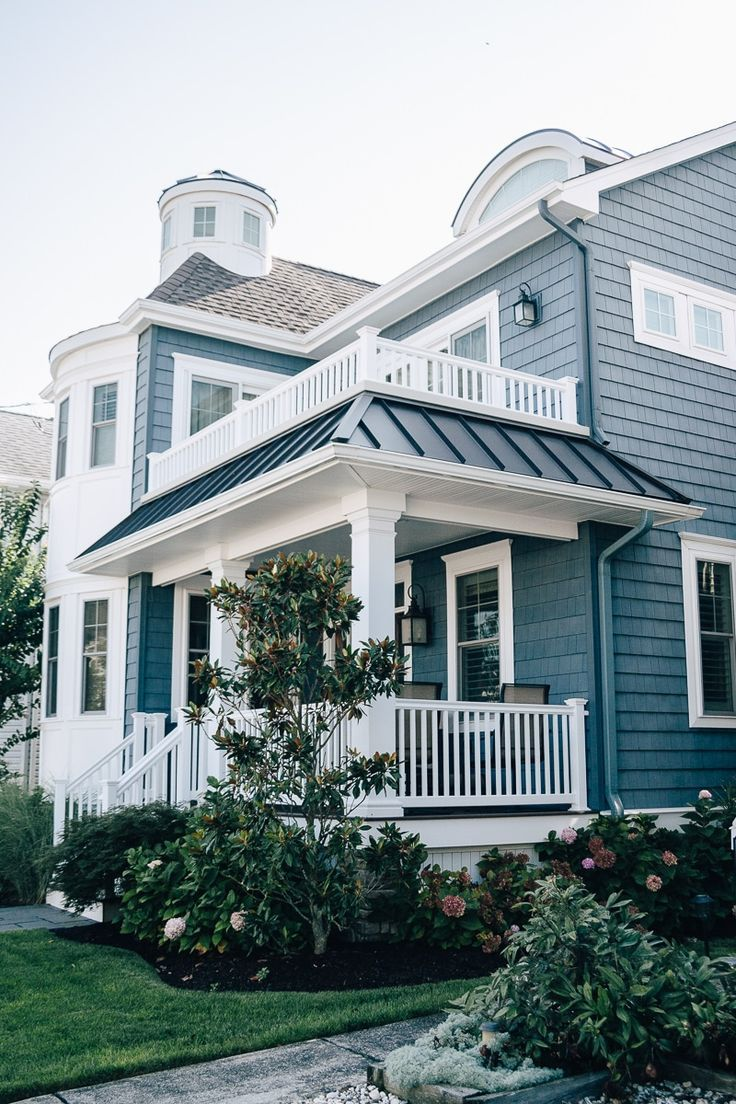 Photo of Beach Town Curb Appeal. Check out these beautiful beach homes from Ocean City, NJ. | beach …