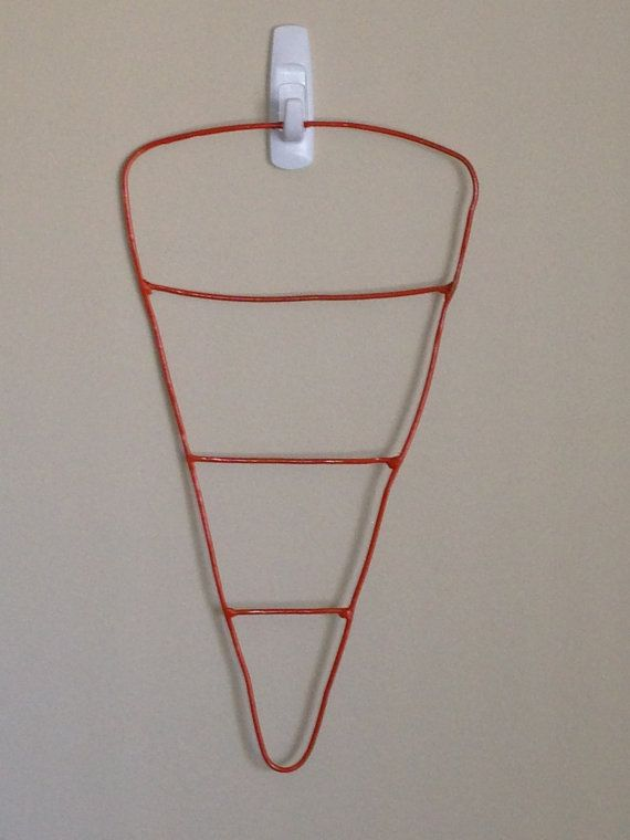 Easter Carrot Deco Mesh Wire Wreath Frame Form By