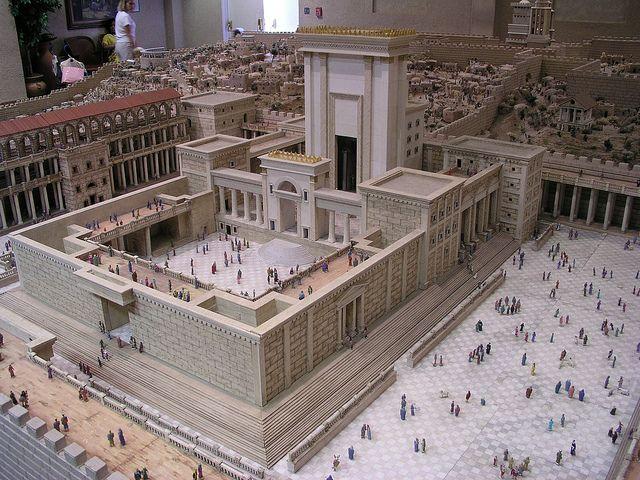 Solomon's Temple   Upper City is in the background.   Lee Bennett   Flickr