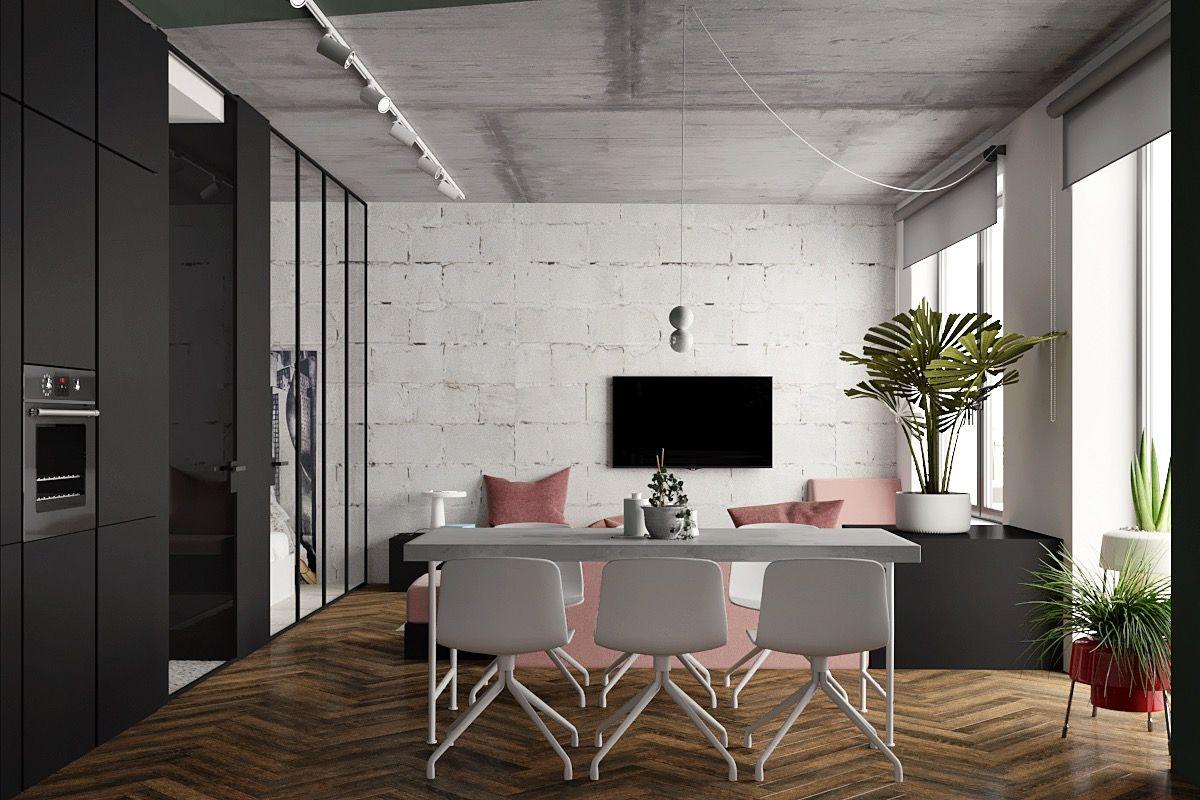 Great Inspiration of Small Modern Studio Apartment