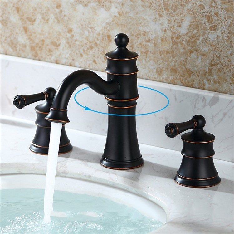 バス水栓 洗面蛇口 浴室水栓 水道蛇口 2ハンドル混合栓 Ti Pvd 浴室