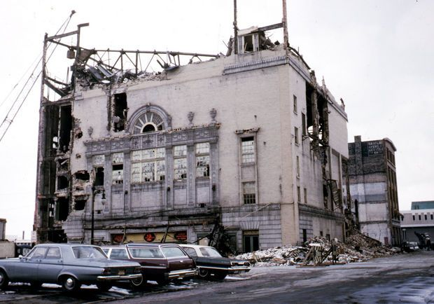 Wrecking downtown 100 photos of grand rapids urban - Downtown at the gardens movie theater ...