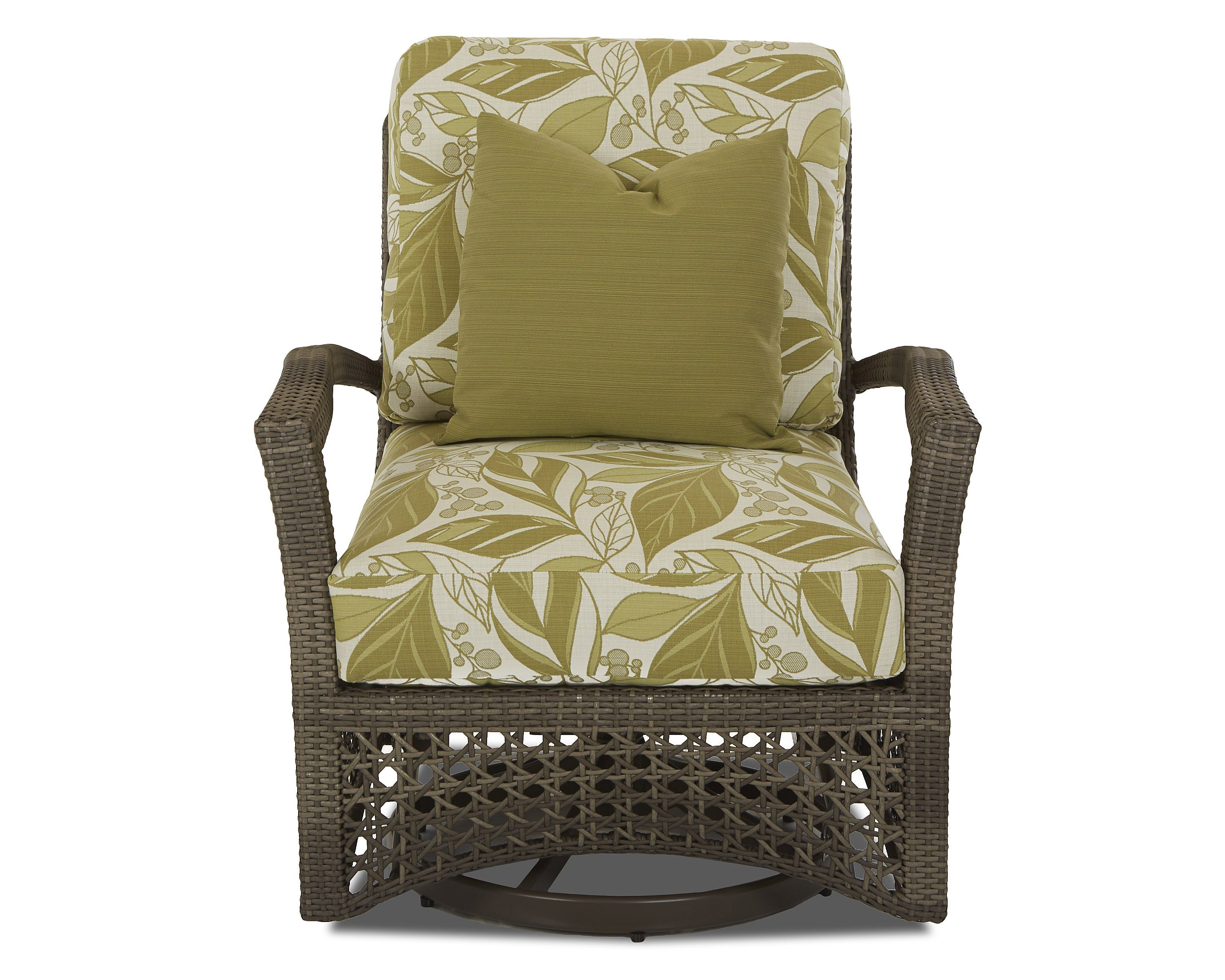 Klaussner Outdoor Outdoor/Patio Amure Swivel Glider Chair W1300 SGC    Klaussner Outdoor   Asheboro
