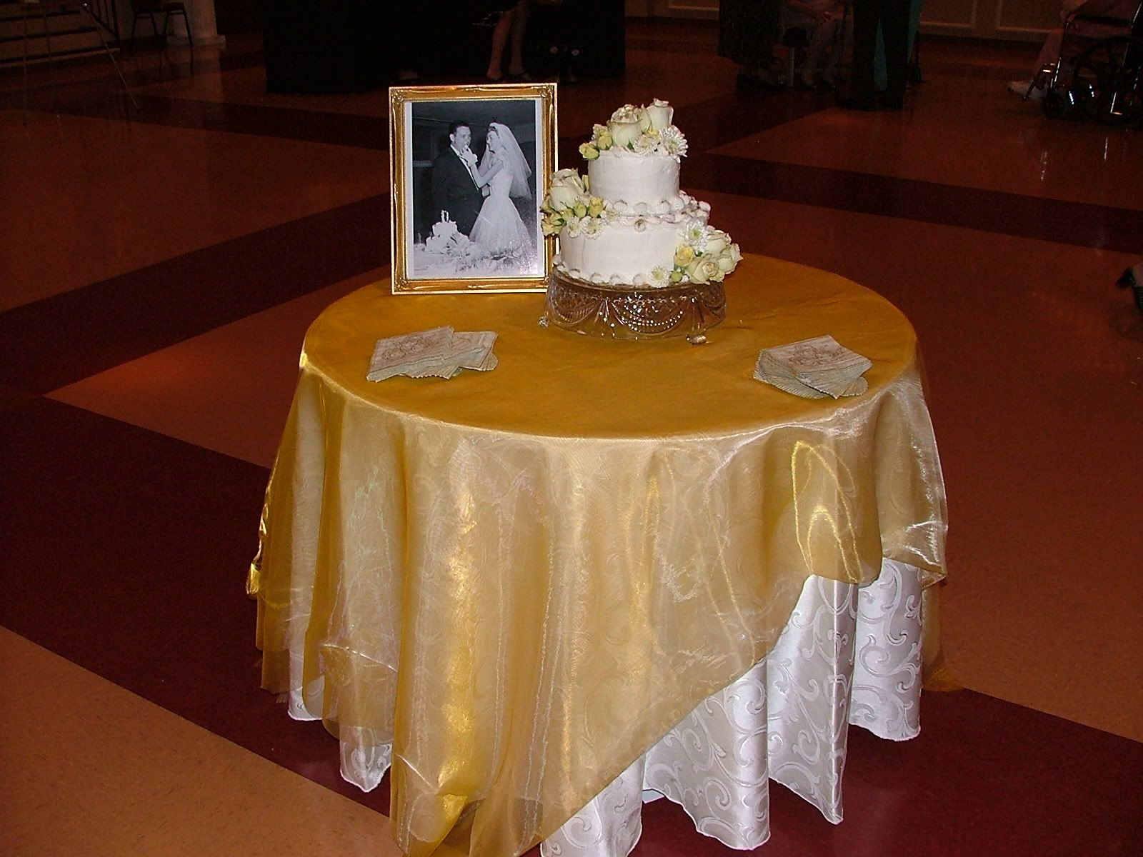 Simple enough. Love the cake stand in 2020 (With images