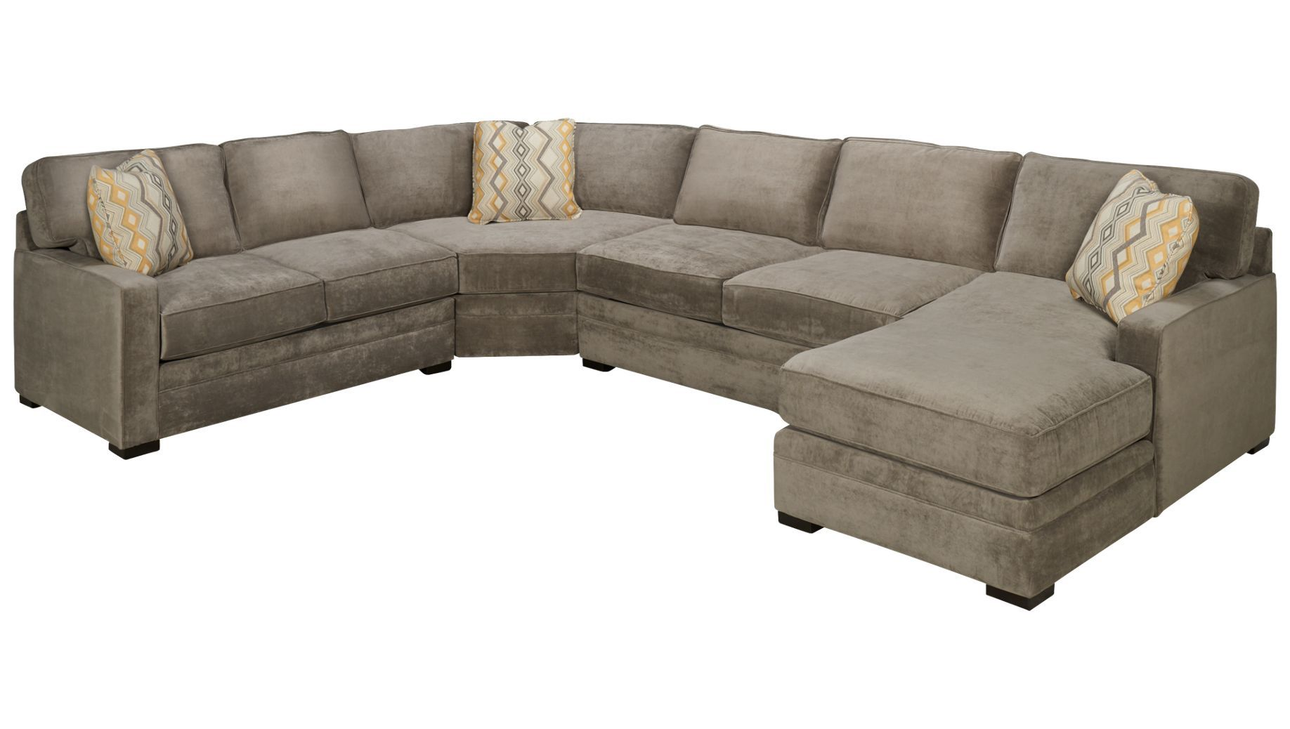 Jonathan Louis Choices Choices 4 Piece Sectional Jordan S Furniture Customize Upholstery In Navy C Family Room Makeover Jonathan Louis Sectional Sectional