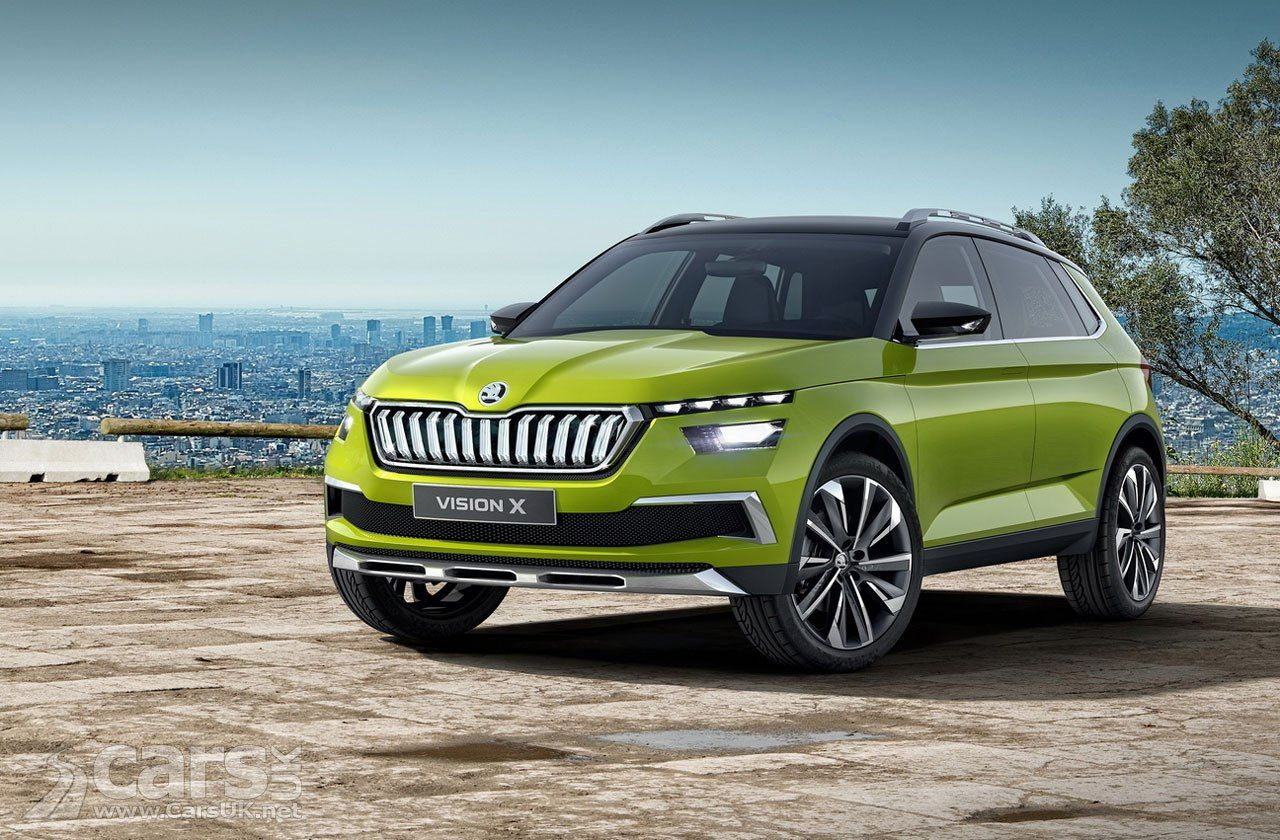 Skoda Vision X Compact Suv Will Arrive In Production Guise At