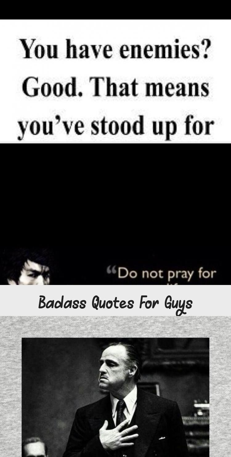 Badass Quotes For Guys Badass Quotes Guys Men Motivationalquotesleadership Dailymotivational In 2020 Badass Quotes For Guys Badass Quotes Motivational Quotes