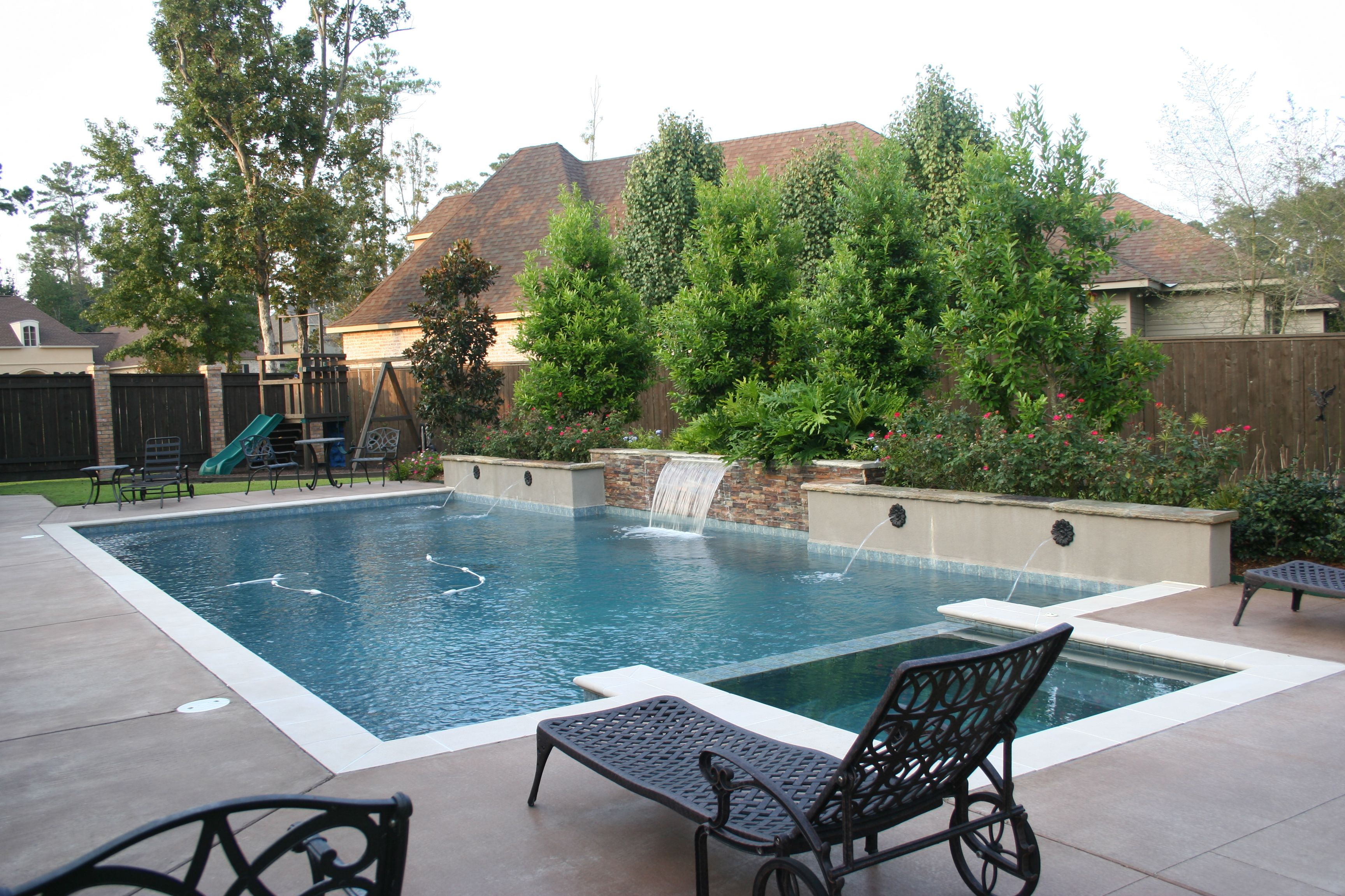 Photos crystal pools and spas inc pool outdoor patio for Pool design inc