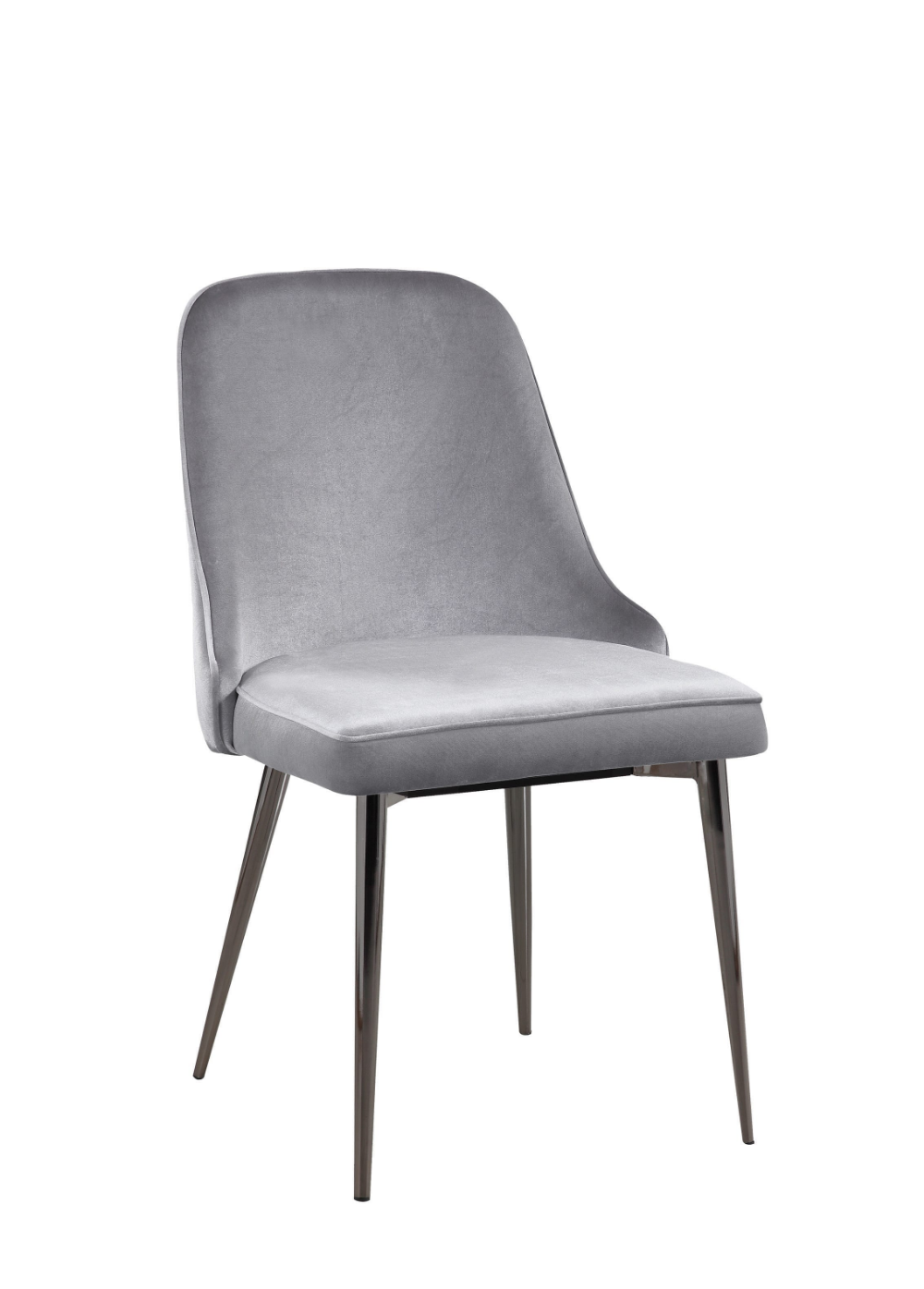 Scott Living Inslee Contemporary Grey Dining Chair Coaster Fine
