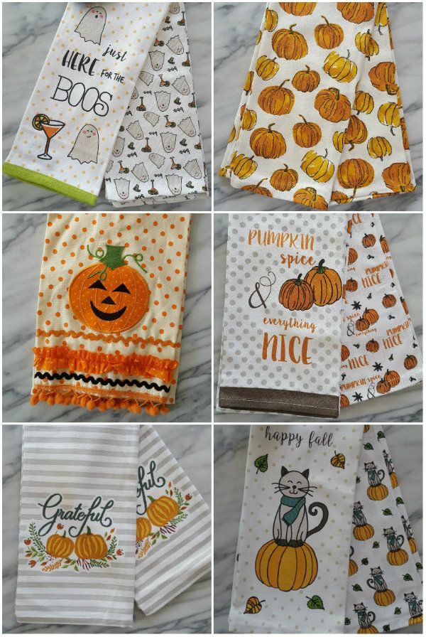 Fall Tea Towels Just In With Images Christmas Kitchen Towels