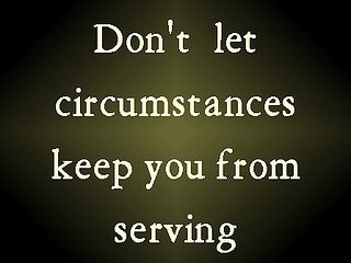 keep you from serving 76 by DailyWord4You, via Flickr