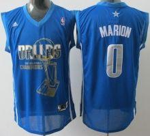 Dallas Mavericks 0 Marion Light Blue 2011 Finals Champions Jersey Wholesale  Cheap